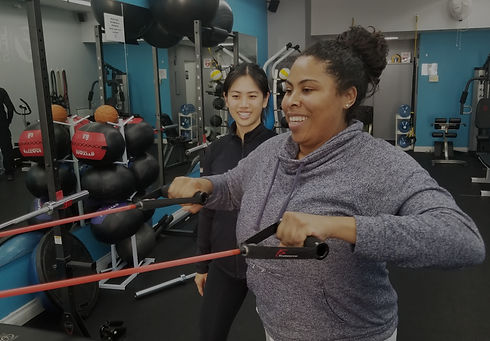 Personal Trainer Robin Lee Logic Fitness