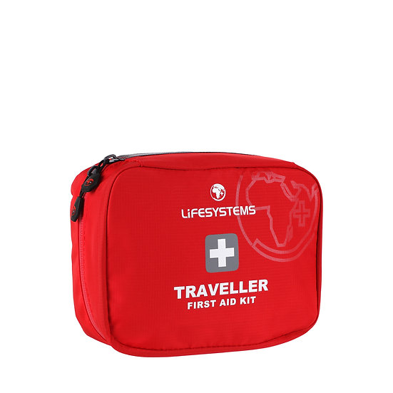 Lifesystems Traveller First Aid Kit Front View