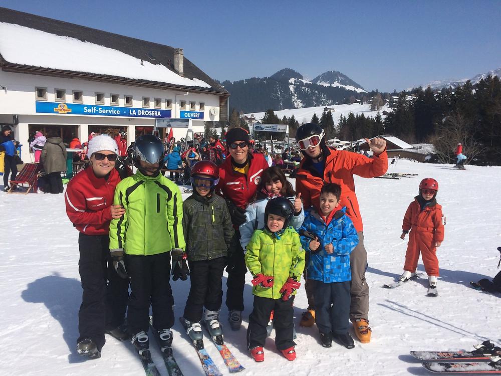 Cours de ski aux Mosses ce dimanche avec Special Olympics et l'école suisse de ski des Mosses