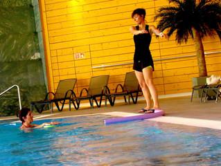 Réadaptation par l'aquagym/aquabike