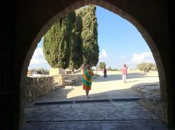 Прощаемся с храмом Афродиты в Куклии