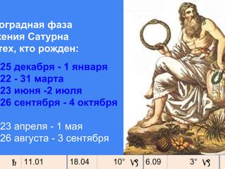 Ретроградный Сатурн 18.04 - 6.09: умный в гору не пойдет…