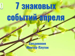7 знаковых событий апреля  - гороскоп для всех знаков Зодиака