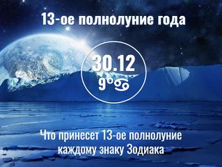 30.12.2020 Что принесет 13-ое полнолуние года каждому знаку Зодиака