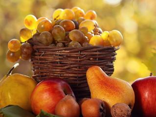 Что у Осени есть для вас в корзине?