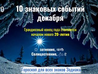 10 знаковых событий декабря: Эпохальный конец года становится началом нового 20-летия