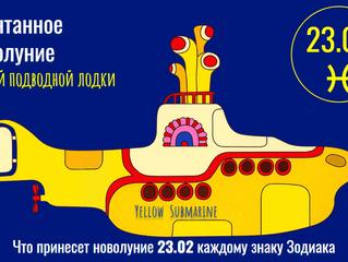 23.02 Спонтанное Новолуние Желтой подводной лодки - Yellow submarine