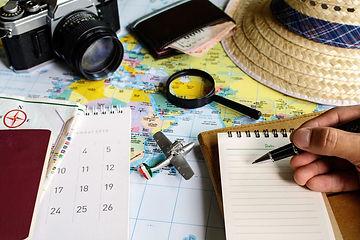 плнирование путешествия