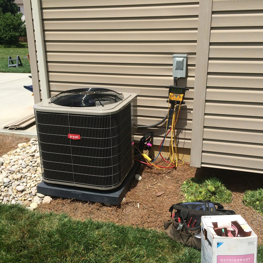 outdoor condenser hvac maintenance