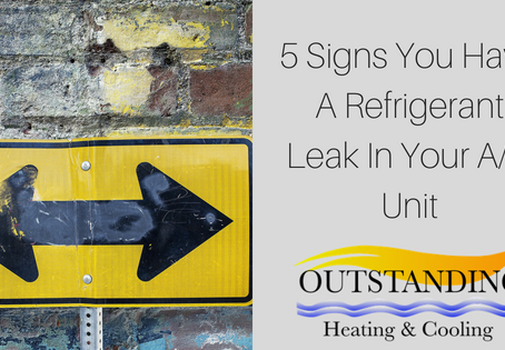 5 Signs You Have A Refrigerant Leak In Your A/C Unit