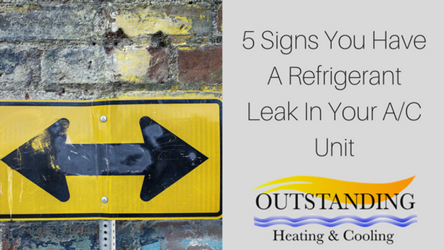 5 Signs Of A Refrigerant Leak In Your Home A/C System