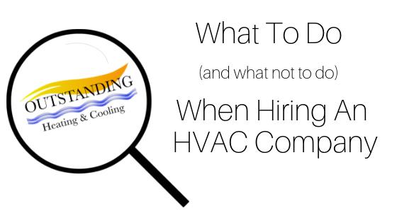 hiring an hvac company