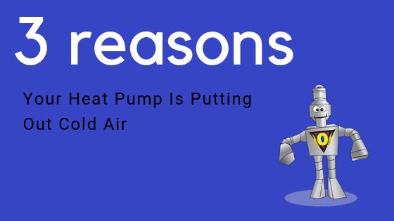heat pump cold air