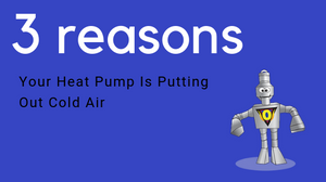 heat pump cold air