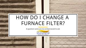 changing furnace filter