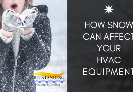 How Snow Can Affect Your HVAC Equipment