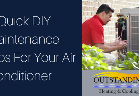 3 Quick DIY Maintenance Tips For Your Air Conditioner