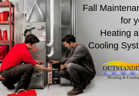 Fall Maintenance For Your Heating and Cooling System