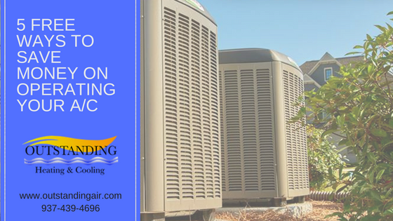 How to save money on operating your ac