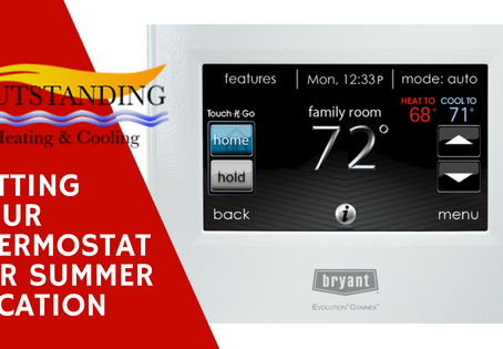 How To Set Your Thermostat For Summer Vacation