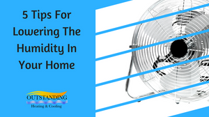 lowering humidity at home