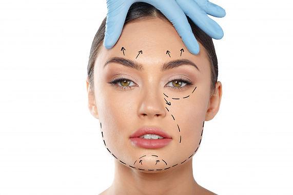 Woman Face lift Lines - Lifting Facial.j
