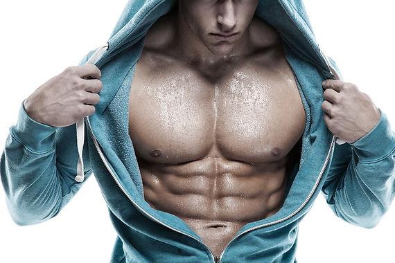 Foto Hombre  Musculoso Pecho y Abdomen.j