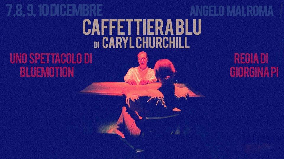 Locandina | Caffetteria blu