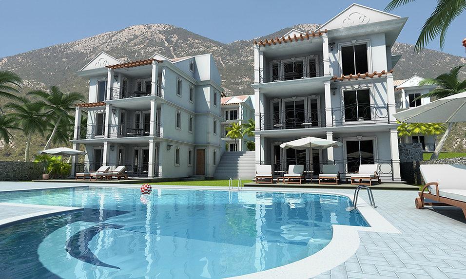 3D Visualisation of a Turkish Villa