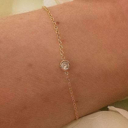 Bracelet doré KOMAK
