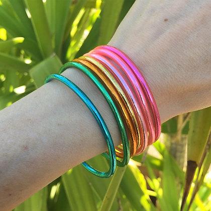 Semainier bracelets bouddhistes Chakra VERSION FINE