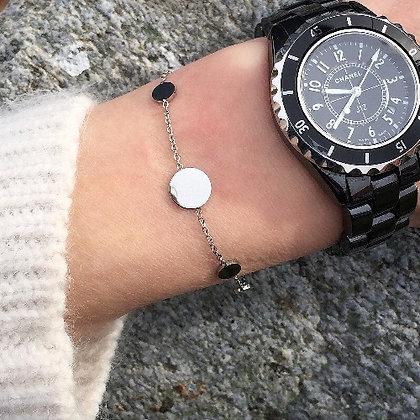Bracelet argenté KOTAO
