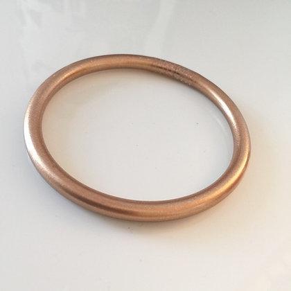Bracelet bouddhiste couleur cuivre mat VERSION LARGE