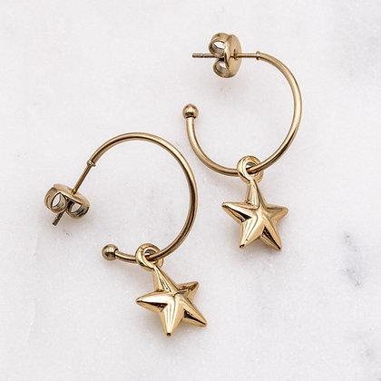 Boucles d'oreilles Lucky Stars