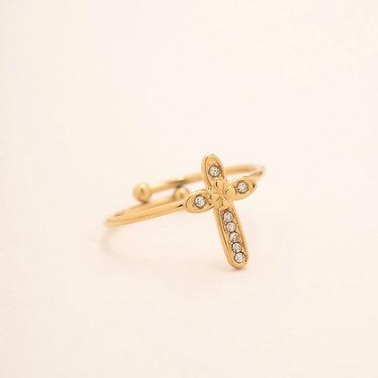 Bague Cross I