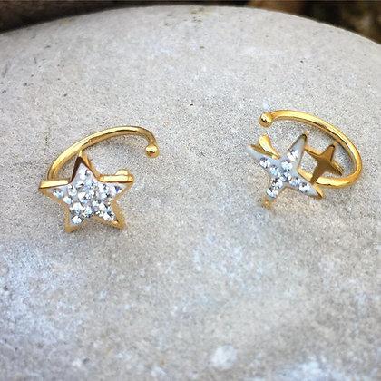 Ear Cuffs Stars
