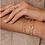 Thumbnail: Bracelet Jonc Circle II