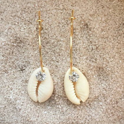 Créoles coquillages et zircons