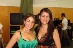 Con Saida Helou
