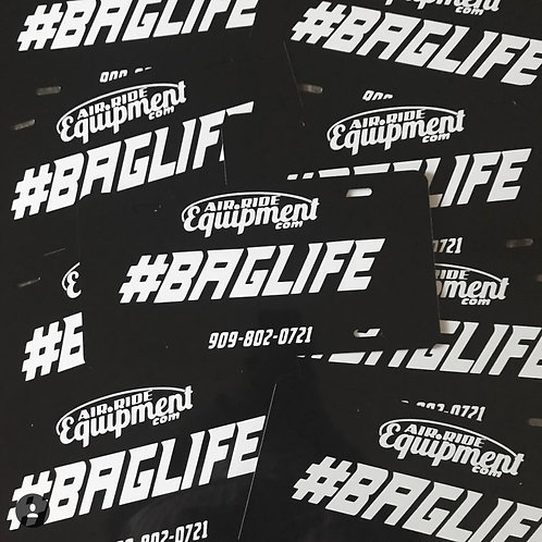BagLife License Plate