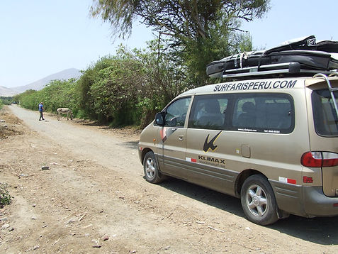 My Surf Camp Peru Van  autos transportes