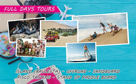 Full Day Tours Ica Paracas Huachachina P