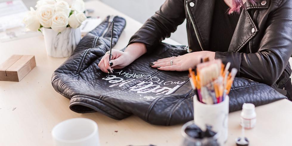 Virtual Jacket Painting Workshop - SUNDAY