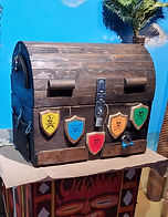 Portable Game Rental Pirate Chest