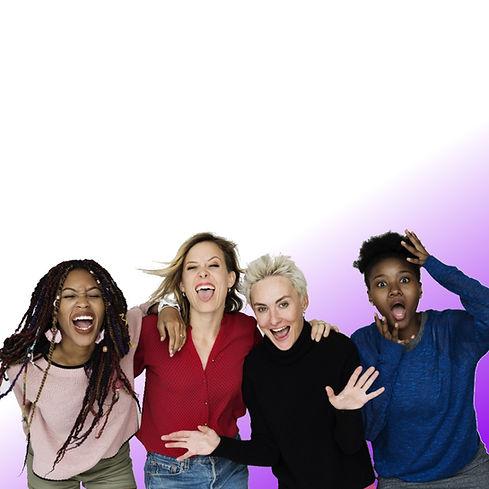 square purple gradient fun girls unedite
