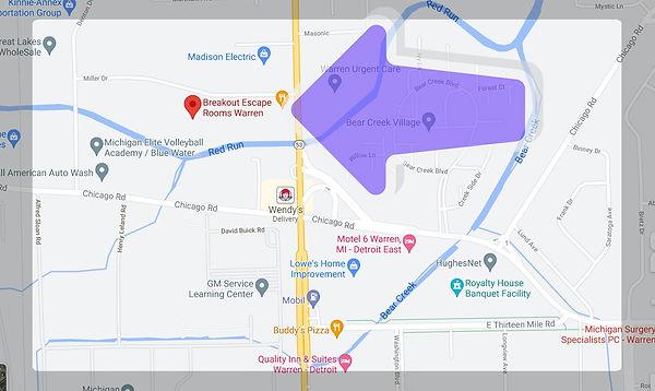Warren map breakout escape rooms games michigan location.jpg