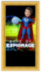 breakout escape rooms game of espionage poster, abstract difficult puzzles