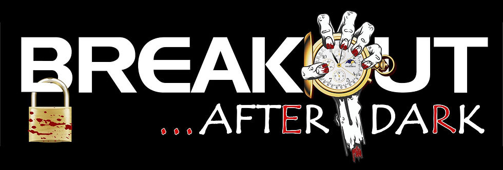 breakout escape rooms After Dark Logo halloween fright nights in orlando florida game ente