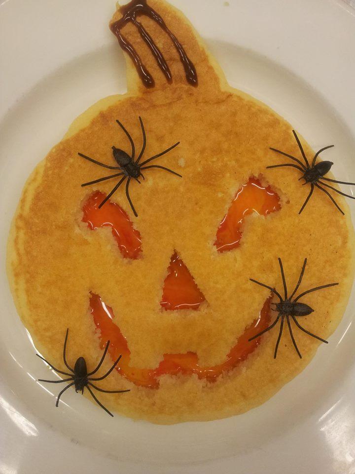 Halloween Pancake