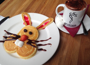 Easter Bunny Pancakes!